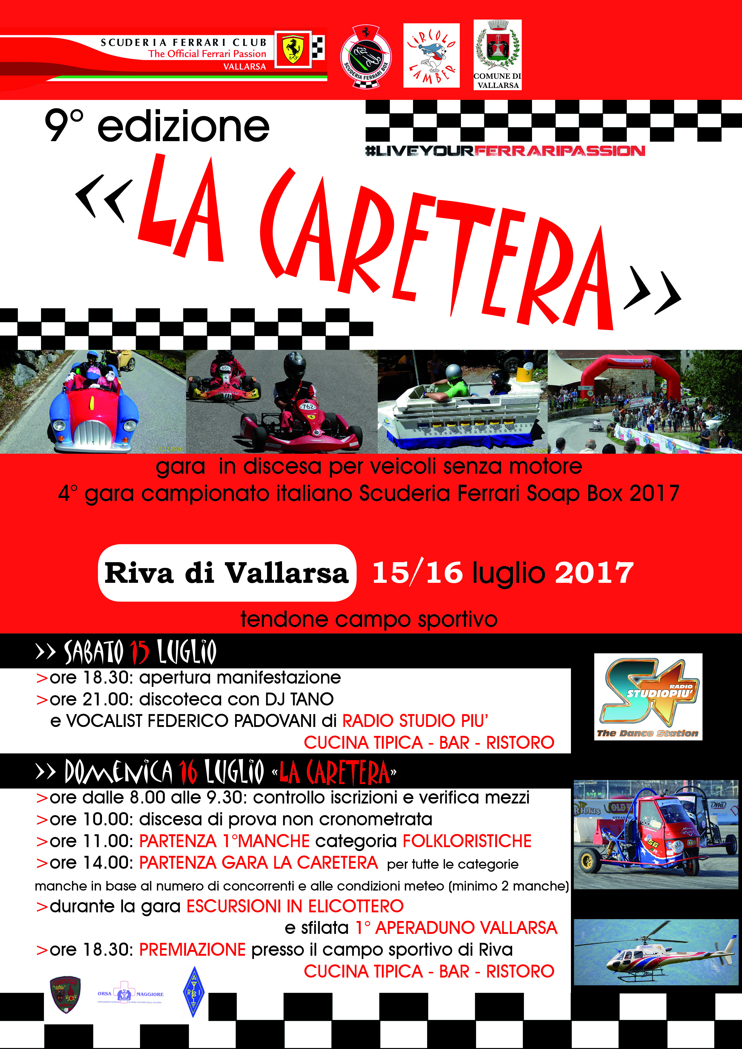 volantino CARETERA 2016